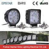 Offroad를 위한 방수 E-MARK 27W LED 일 빛, 트럭, 트랙터