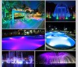 Indicatore luminoso subacqueo caldo di illuminazione della piscina di White/RGB LED
