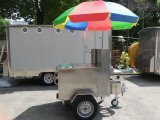 De mobiele Kar van de Hotdog voor Verkoop