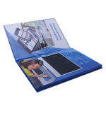 Heet verkoop Hardcover het VideoBoek van 7 Duim, de VideoKaart van de Brochure van de Groet
