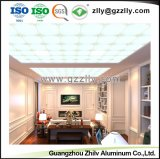 Venta directa de fábrica de aluminio artística techo para la decoración del hogar