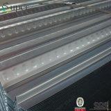 Strato galvanizzato galvanizzato rivestito di Decking del pavimento d'acciaio per la struttura d'acciaio