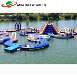 Parque acuático flotante inflables inflables parque de atracciones de agua para juegos de agua