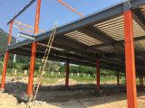Construcción de edificios de la estructura de acero de dos cuentos para el almacén y el mercado
