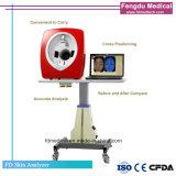 Bewegliches weißes Licht-Gesichtshaut-Analysegerät des Scannen-UV-Light/3D RGB