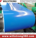 Bobine ricoperte colore di alluminio di Willstrong con PVDF o il rivestimento del poliestere