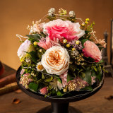 Regalo del fiore di Peserved Rosa di promozione per il compleanno del biglietto di S. Valentino
