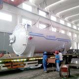 vulcanizador de goma industrial aprobado de la calefacción de vapor de 2800X4500m m ASME