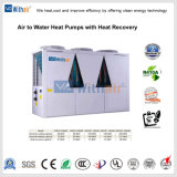 Refrigeratore di acqua raffreddato aria modulare del compressore del rotolo con acqua calda per uso domestico