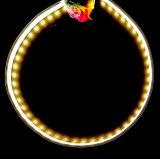 LED 점화를 위한 구부릴 수 있는 알루미늄 LED 단면도