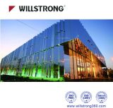 PVDF Uvresistant pour façade du panneau composite en aluminium