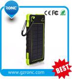 Bewegliche externe Energien-Bank der Batterie-5000mAh mit sehr großes Panel-Solarladegerät
