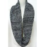Для женщин и женщин шеи теплее фантазии толстой зимней пряжи смешанных трикотажные петля шарфом Snood (SK157)