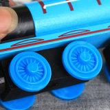 Le piste magnetiche di legno dei treni del Thomas hanno impostato i giocattoli educativi dei bambini del regalo di natale