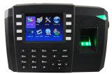 Control de acceso de la huella digital de la nueva versión con 3G opcional (TFT600)