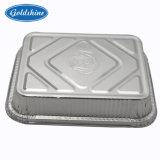 Contenitore a gettare del di alluminio per l'imballaggio di alimento