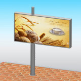 LED 디지털 옥외 광고 게시판을 광고하는 강철 구조물