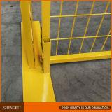 Recinzione provvisoria gialla superiore del Canada per la costruzione