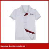 Camisas curtas feito-à-medida do trabalho da luva para o verão (W269)