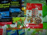 Los alimentos Cosmetcs bocadillos de embalaje materiales de embalaje de medicamentos de cine Film laminado