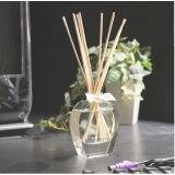 De hete Verkopende 80ml Fles van het Glaswerk met Essentiële Olie voor de Reeksen van de Gift van de Verspreider van het Riet van het Huis