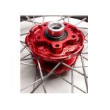 Cubo de roda de alumínio feito sob encomenda da motocicleta