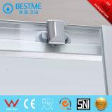 Écran de douche de plain-pied en verre Tempered avec la taille personnalisée (BL-L0038-P)