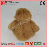 Gorila suave realista del juguete de la felpa del mono del animal relleno para la promoción