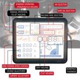 容易なOperatiing IGBT MIGインバーター溶接工をセットする1つの接触LCD