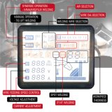 Жк-одним нажатием кнопки Настройка Easy-Operatiing IGBT МИГ Инвертор сварочного аппарата