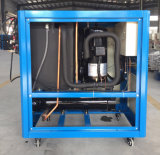 refrigeratore di acqua industriale del refrigeratore raffreddato ad acqua del rotolo di 3pH 380V 50Hz