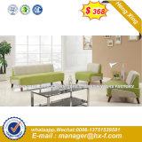 Home Sala de estar en forma de L esquina moderno sofá de cuero (HX-S327)