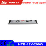 12V 16A LED 세륨 RoHS Htb 시리즈를 가진 Ultra-Thin 전력 공급