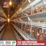 Клетка цыпленка слоя батареи оборудования птицефермы автоматическая
