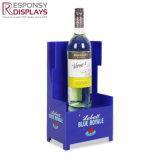 Cremagliera di visualizzazione acrilica del vino di disegno del negozio di promozione di vendite per il centro commerciale