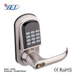 Electronic Single Standard Latch Mortise Smart DIGITAL Pin Codes Hotel Door Lock