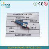 Atenuador fixo do encaixe da fibra da fibra óptica Attenuator/LC do Fêmea-Macho do LC Attenuator/LC