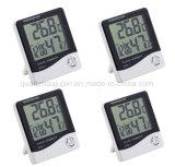 Horloge numérique OEM Indoor Thermomètre Hygromètre