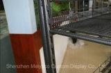 أرضية يقف قابل للنقل معدن شراب عرض حامل قفص [مينرل وتر] [ديسبلي شلف]