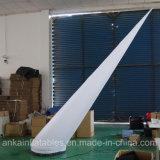 decorazione gonfiabile di illuminazione della colonna LED della colonna del tubo di altezza di 2m