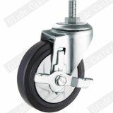 Mittlere Aufgaben-elastisches Faden- aus Kautschukstamm-Fußrollen-Rad G3414