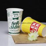 Impresión de logotipo personalizado batido desechables Cup