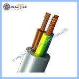 Câble flexible jaune à 3 conducteurs câble souple orange 3 câble souple de base Courant nominal