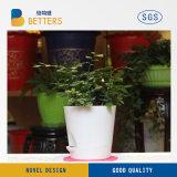 Accueil de la résine décoratif Jardin lumière vers le haut LED Pot de fleurs