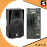 15 Spreker ps-2215ABT van de PA van Bluetooth van de FM van de duim 200W USB BR de Plastic Actieve PRO
