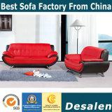Beste Qualitätshotel-Vorhallefuton-Leder-Sofa-Möbel (819#)