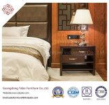 Mobília chinesa do hotel com a mobília de madeira do quarto ajustada (F-3-2)