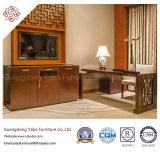 セットされる木の寝室の家具が付いている中国のホテルの家具(F-3-2)
