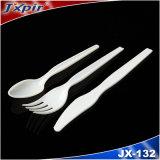 Talheres de plástico descartáveis para alimentos (JX132)
