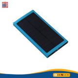 la Banca solare mobile di carico di potere del caricatore di Outshell 8000mAh del metallo di tempo 3-4hours e caricatore solare Powerbank